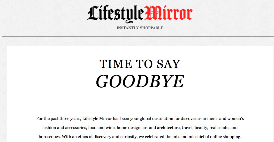 LIFESTYLE MIRROR (2014)